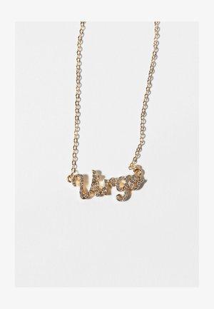 ZODIAC VIRGO - Necklace - gold coloured