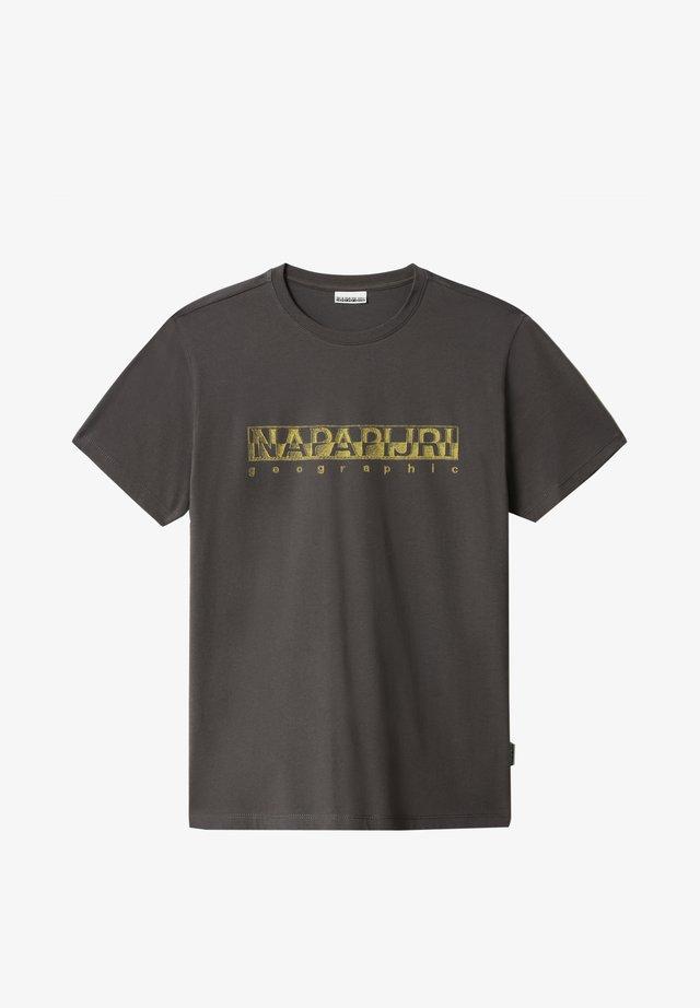 SALLAR - T-shirt print - dark grey solid