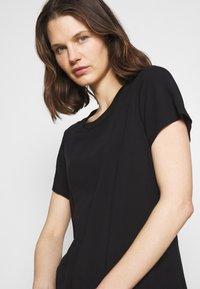 Marc O'Polo DENIM - ½ SLEEVE DRESS - Jersey dress - black - 3