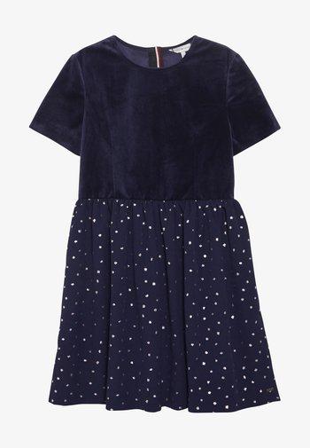 PRINTED COMBI DRESS