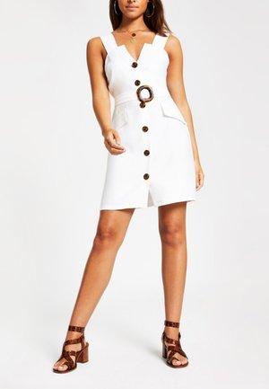 PINAFORE - Day dress - white