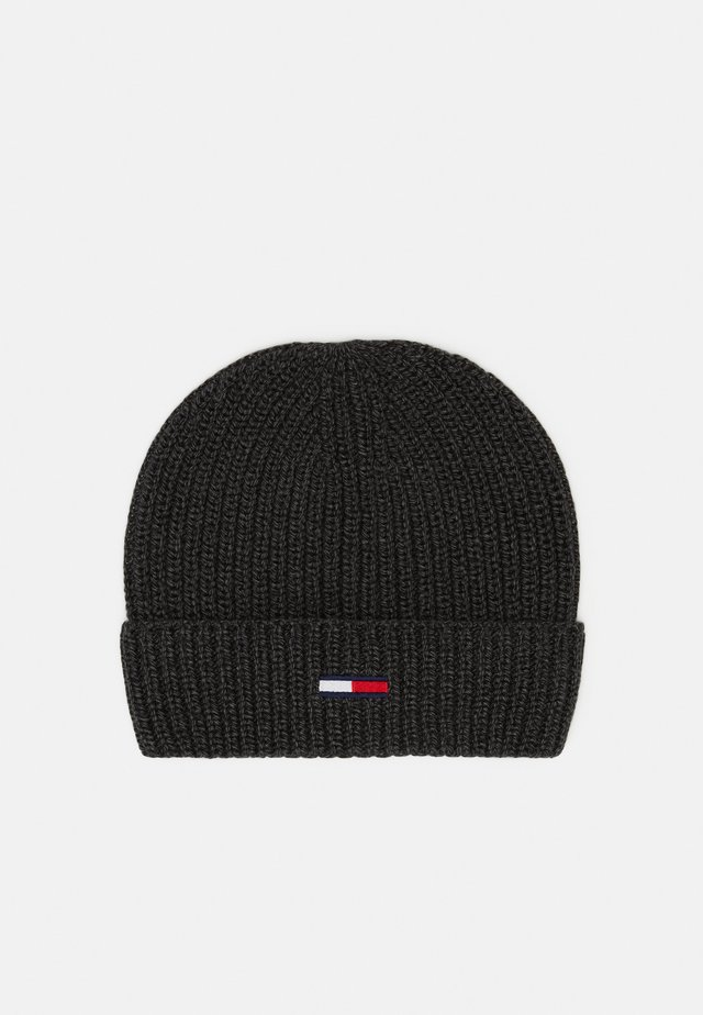 BASIC FLAG BEANIE UNISEX - Mössa - grey
