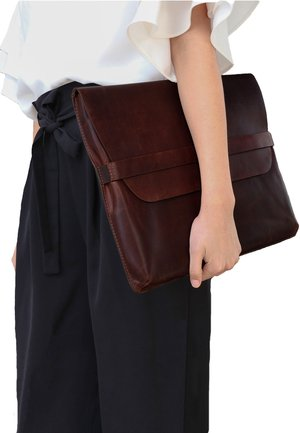 LAPTOP-HÜLLE - HARVORD - Laptop bag - braun-cognac