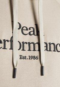 Peak Performance - ORIGINAL HOOD - Sweatshirt - celsian beige - 5