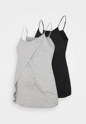 2 NURSING 2 PACK - Top - Top - black