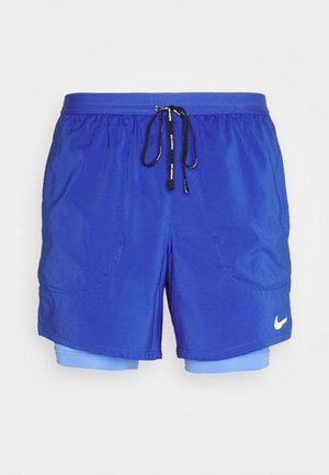 STRIDE SHORT - Sports shorts - astronomy blue/reflective silver