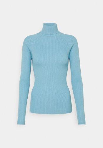 SIGRID - Stickad tröja - blue bell