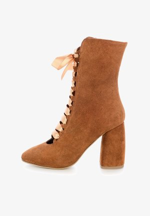 REMITI - Lace-up boots - brown