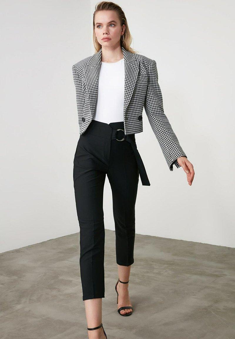 Trendyol - Trousers - black