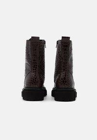Kennel + Schmenger - VIDA - Platform ankle boots - braun - 3