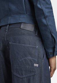 G-Star - GRIP 36 LOOSE - Flared Jeans - kara steel denim - raw denim - 5