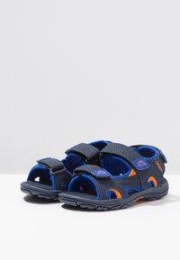 Kappa - EARLY II - Walking sandals - navy/orange - 3