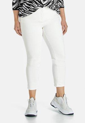 Pantalon classique - offwhite