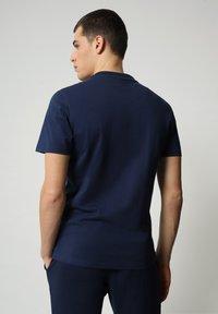 Napapijri - S-ICE SS - T-shirt med print - medieval blue - 1