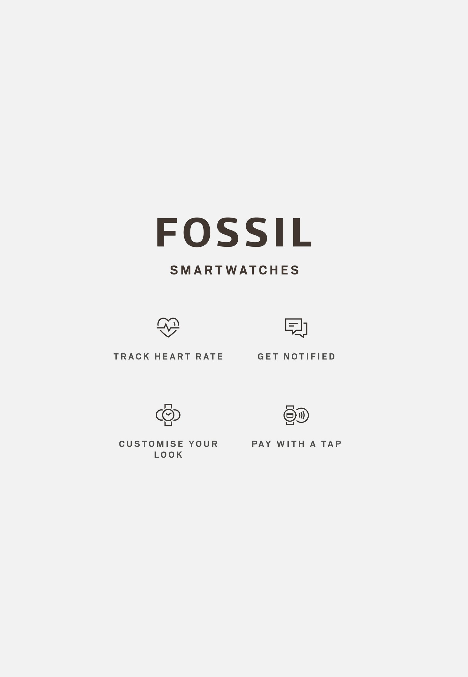 Fossil Smartwatches EXPLORIST - Smartklokke - braun/brun 07gUDlEx3u5gZ8a