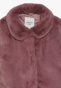 Name it - NKFMONAE FAUX FUR JACKET - Summer jacket - dusty rose - 3