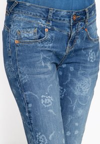 Amor, Trust & Truth - MIT FLORALEM MUSTER - Slim fit jeans - blau - 3