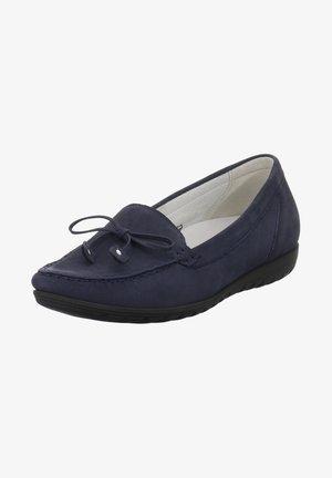 Moccasins - dunkel blau