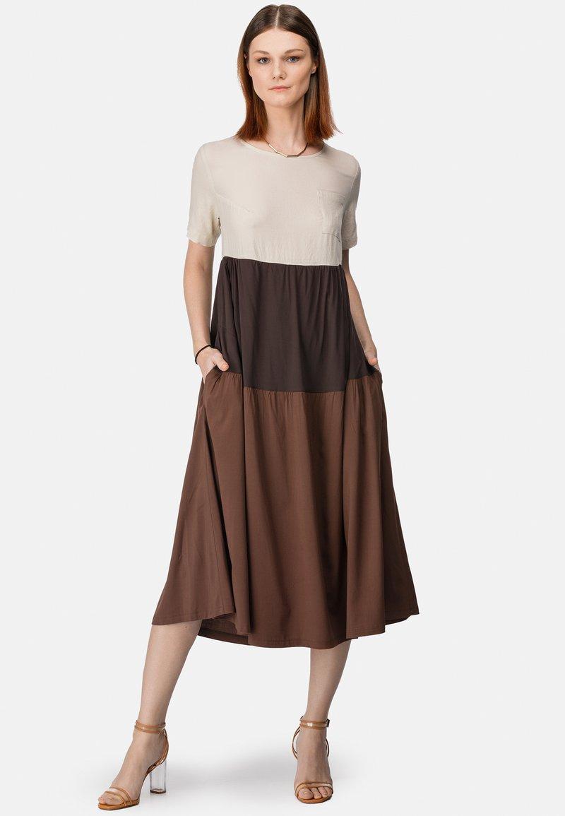 HELMIDGE - Maxi dress - braun
