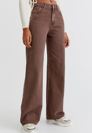 BUNTE  - Flared Jeans - brown