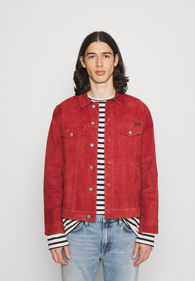 Nudie Jeans - ROBBY - Leichte Jacke - poppy red