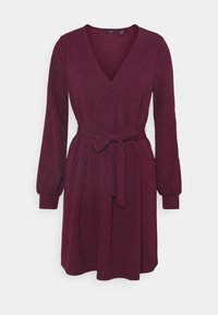 Vero Moda - VMCALI SHORT DRESS  - Day dress - winetasting - 0