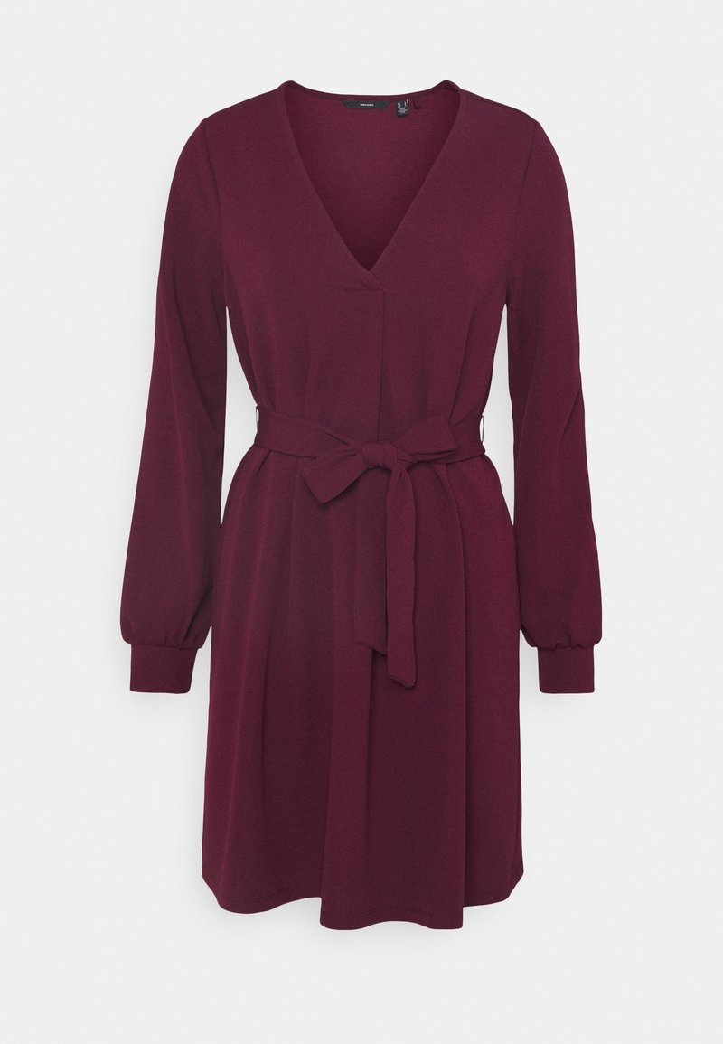 Vero Moda - VMCALI SHORT DRESS  - Day dress - winetasting