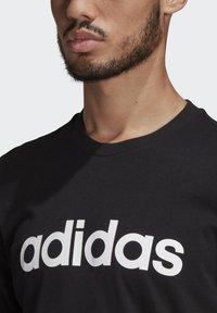 adidas Performance - T-shirts print - black - 4