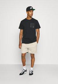 Sixth June - SIGNATURE LOGO SHORT - Shorts - beige - 1