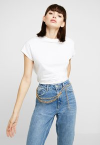 Gina Tricot - JANE CHAIN BELT JULI - Waist belt - gold-coloured