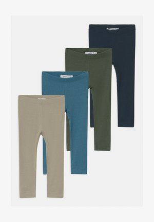 NBMKABILLE 4 PACK - Leggings - Trousers - dark sapphire