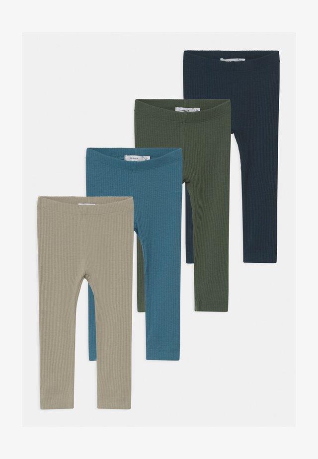 NBMKABILLE 4 PACK - Leggings - Trousers - dark sapphire