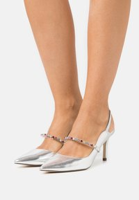 Call it Spring - OULAYA - Tacones - silver - 0