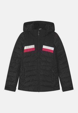 CAREY UNISEX - Lyžařská bunda - black