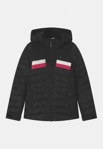 CAREY UNISEX - Ski jacket - black
