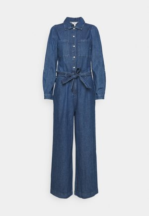 OBJYVONNE - Jumpsuit - medium blue denim