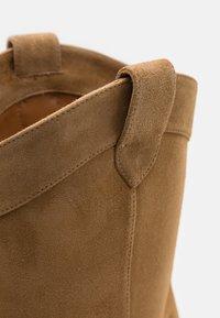 Pura Lopez - Cowboy/Biker boots - beige - 6
