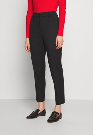 BUSINESS - Trousers - black