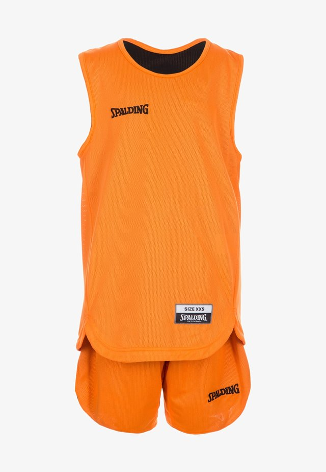 SET - Sports shirt - orange/black