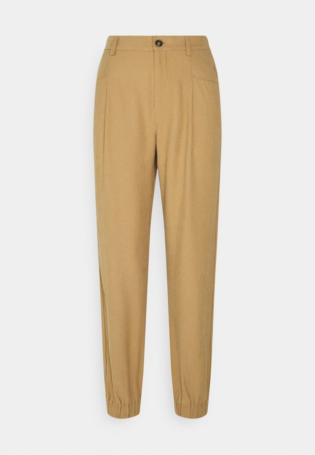 ONLEMERY MID SMOCK  - Pantalones - tigers eye
