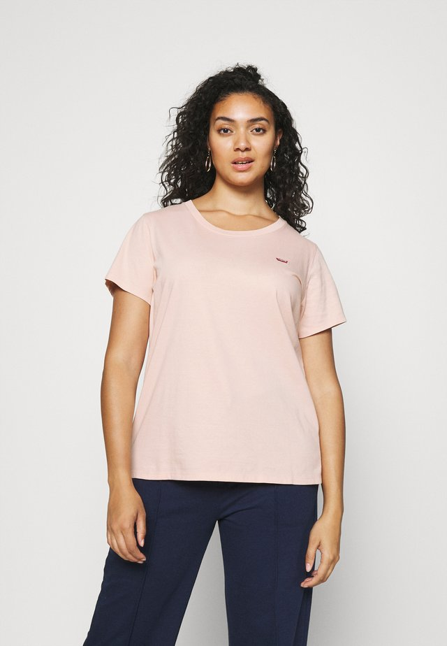 THE PERFECT TEE - Jednoduché triko - evening sand