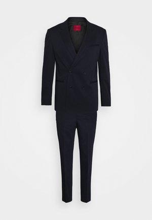 HERMAN GERMAN - Oblek - dark blue