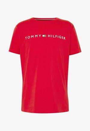 TEE LOGO - Pyjama top - red