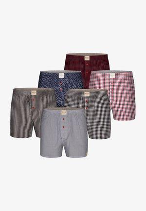 6 PACK  - Boxershort - grey