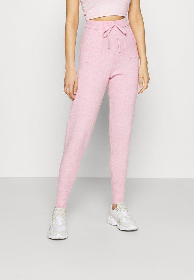EFFY JOGGER - Spodnie treningowe - pink