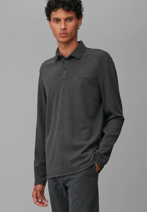 SOFT TOUCH - Polo shirt - dark grey melange