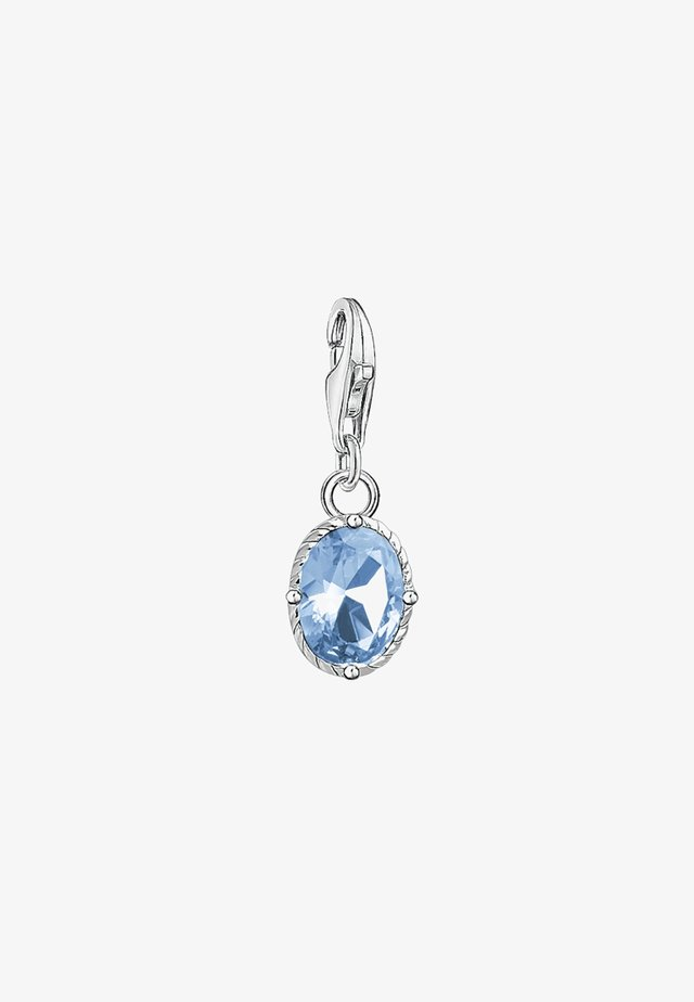 Hanger - blue/silver coloured