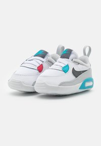 Nike Sportswear - NIKE MAX 90 CRIB - Lära-gå-skor - white/iron grey/chlorine blue - 1