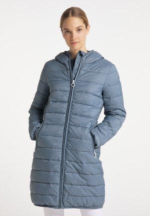 Winter coat - graublau