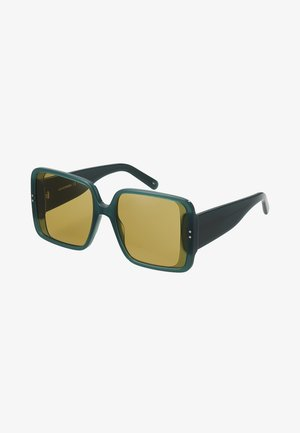 Sunglasses - green/brown